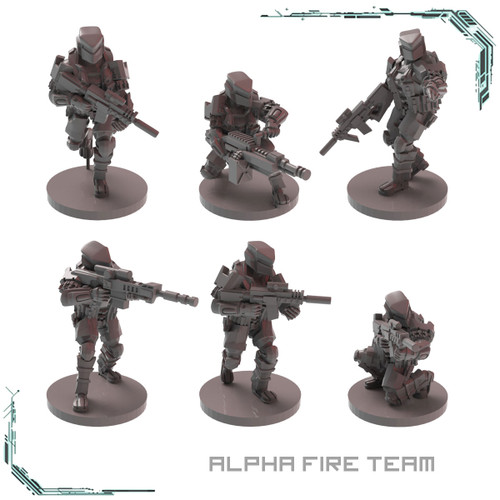 MTU Alpha Fire Team