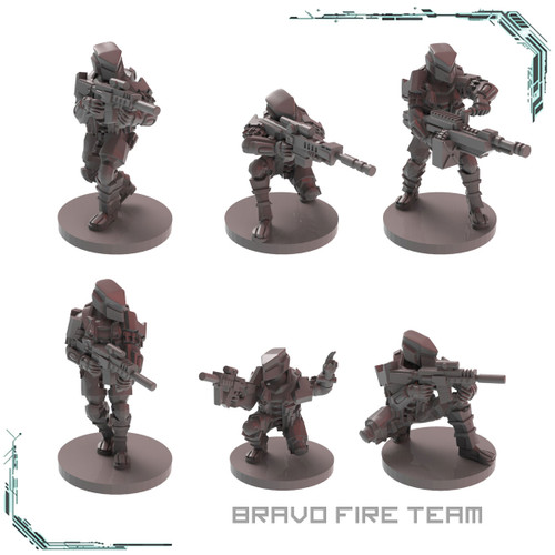 MTU Bravo Fire Team