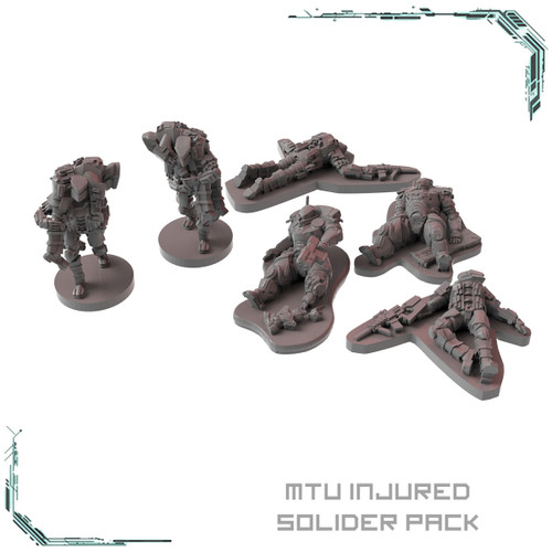 MTU Injured Solider Pack