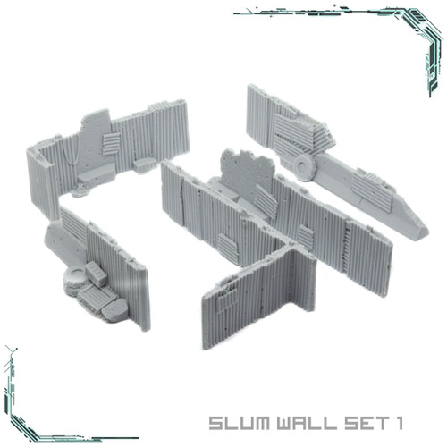 Slum Wall Set 1