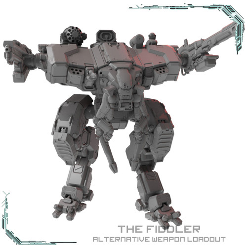 The Fiddler Mech - Alternative loadout