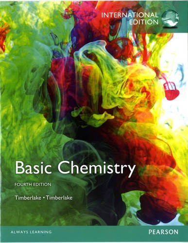 Basic Chemistry (4th Edition) Timberlake IE
