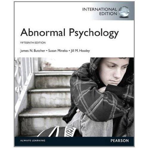 Abnormal Psychology (15th Edition) Butcher IE