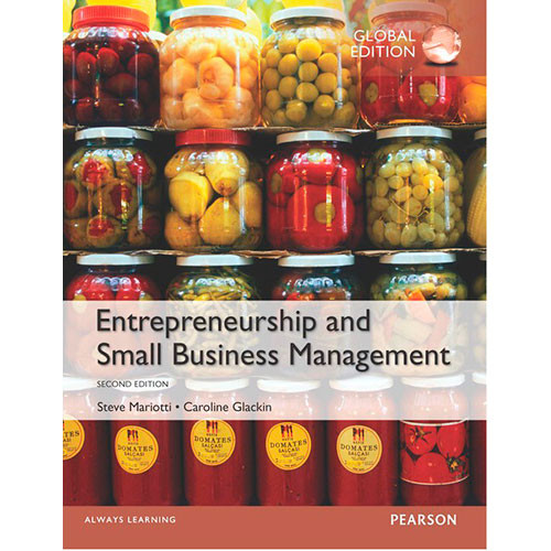 Entrepreneurship and Small Business Management (2nd Edition) Mariotti IE