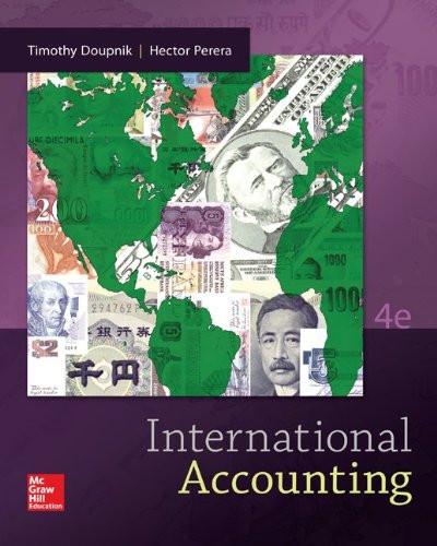 International Accounting (4th Edition) Doupnik