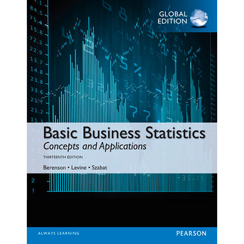 Basic Business Statistics (13th Edition) Berenson IE