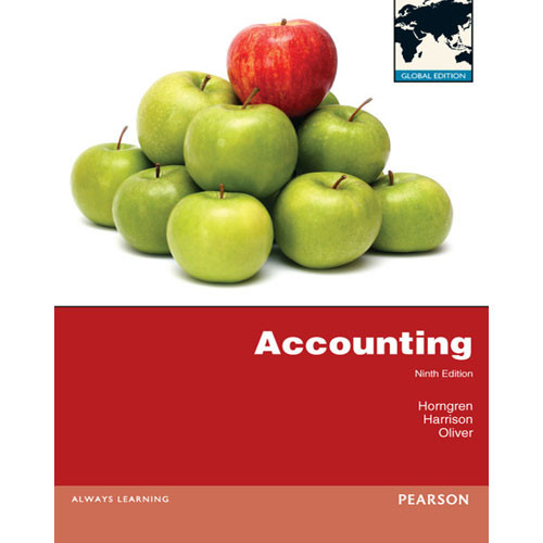 Accounting (9th Edition) Horngren IE