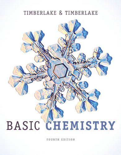 Basic Chemistry (4th Edition) Timberlake
