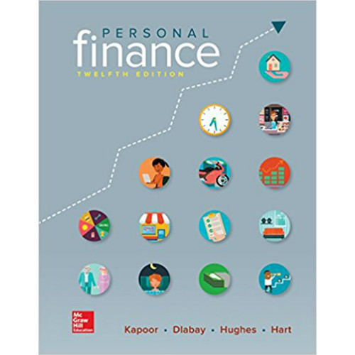 Personal Finance (12th Edition) Kapoor   9781259720680