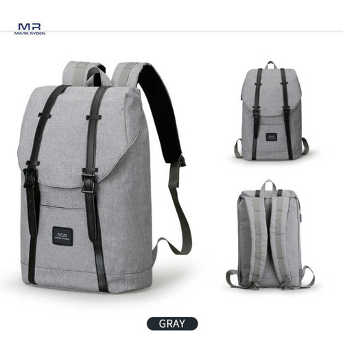 Large Capacity Backpack with USB Charging for 14inches 15inches Laptop
