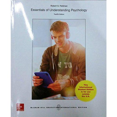 Essentials of Understanding Psychology (12th Edition) Feldman   9781259253423