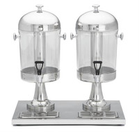 Beverage Dispenser, Double - 2 x  2.1 gallon