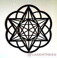 Star Tetrahedron Hexagon Seed of Life Wall Art