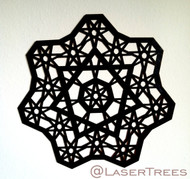 Seven Sided Stars Wall Art