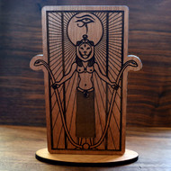 Sekhmet Desk Altar (Baltic Birch)