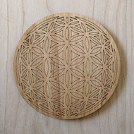 Flower of Life Orb Drink Coasters - Set of 4