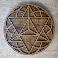 Star Tetrahedron Seed of Life Wall Art