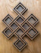 Endless Knot in Cherry/Walnut
