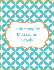 Understanding medication label