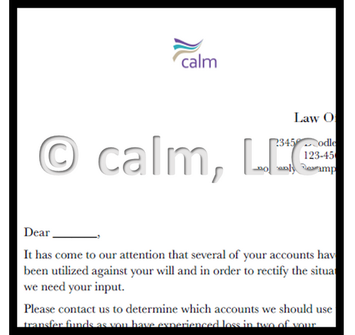 Identifying a mail scam