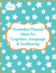 November Therapy Ideas