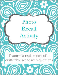 Photo Recall (Craft Table Scene)