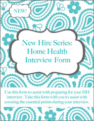 Home Health Interview Form