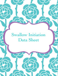 Swallow initiation data sheet