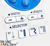 Quick Stitch Selection Buttons