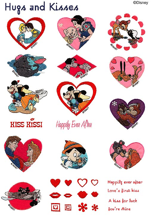 Disney Embroidery Cards Brother Brother Disney Embroidery Card