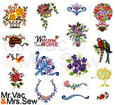 70 Built-In Embroidery Designs