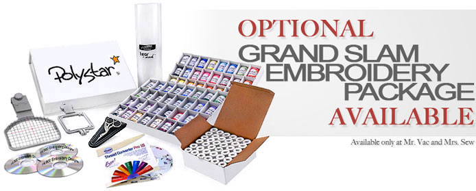 Brother PE-770 Grand Slam Embroidery Package
