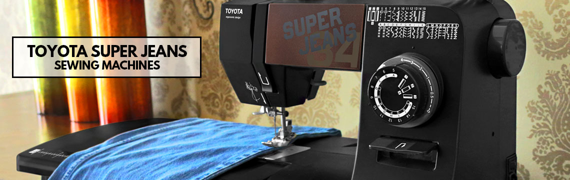 Toyota Super Jeans Sewing Machines