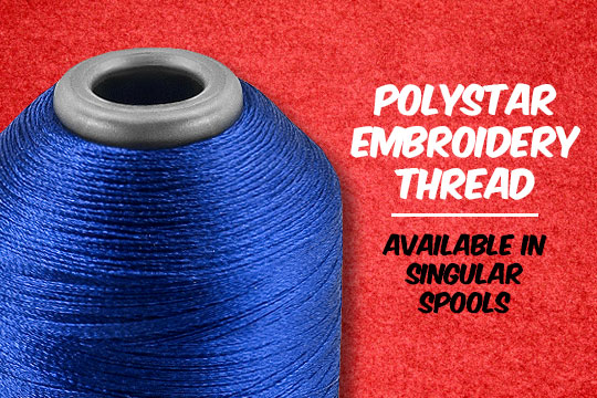 Polystar Embroidery Thread - Available in Singular Spools