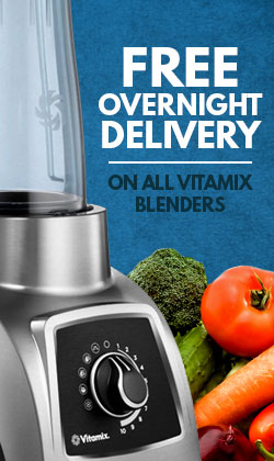 Free Overnight Delivery on Vitamix Blenders