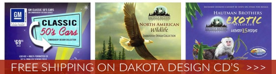 Free Shipping On Dakota Design CDs