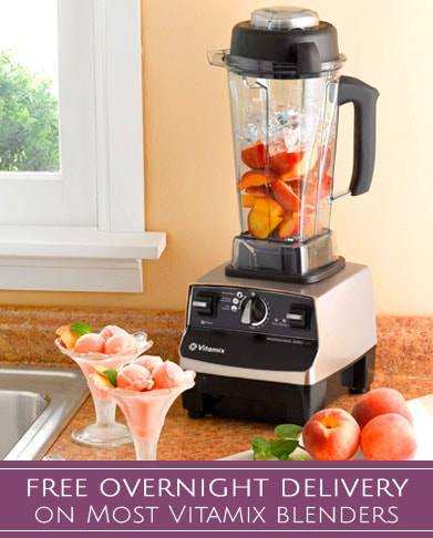 Free Overnight Delivery on Most Vitamix Blenders