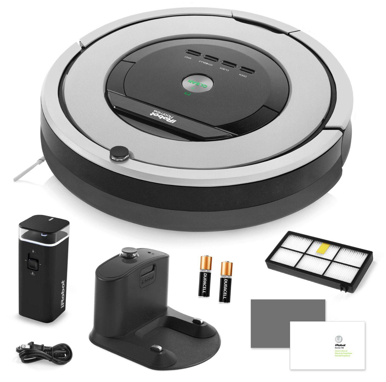 irobot roomba 860 automatic robotic vacuum cleaner. Black Bedroom Furniture Sets. Home Design Ideas