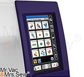 Easy-To-Use Full Color Touch Screen and Interchangeable Frames