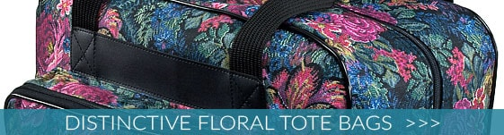 Distinctive Floral Tote Bags