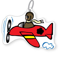 Airplane Bag Tag