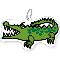 Crocodile Bag Tag