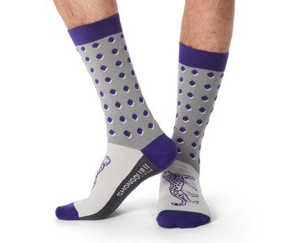 Cheetah Dot Socks