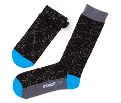 Rhino Pattern Socks