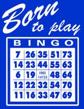 Born to Play Bingo T-Shirt