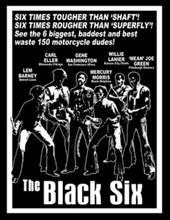 Black Six T-Shirt