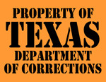 Texas Department of Corrections T-Shirt