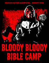 It's 1984 and a group of young, horny, out of control Christians led by Father Cummings (Reggie Bannister) are spending a fun filled weekend at the Happy Day Bible Camp. All ignore the warnings from the local folk of the grizzly murders that took place 7 years prior by a sadistic crazy nun. Is Sister Mary Chopper (Tim Sullivan) dead or is she just waiting for backsliding Christians to commit sins of the unholy, and will Jesus (Ron Jeremy) need to lend a hand to save the day?