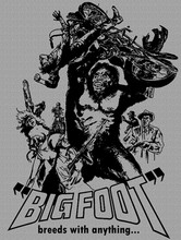 Bigfoot Breeds With Anything T-Shirt