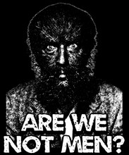 Are We Not Men T-Shirt